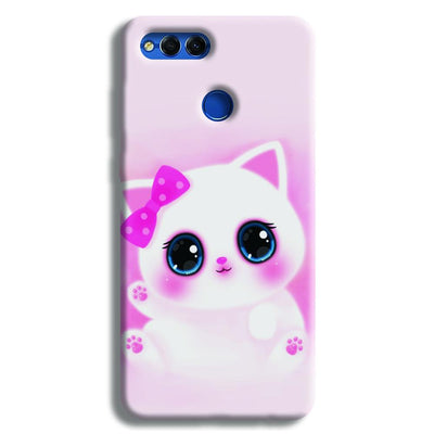Pink Cat Honor 7X Case