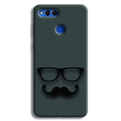 Cute mustache Gray Honor 7X Case