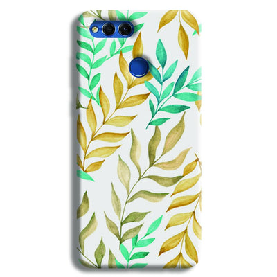 Tropical leaves  Honor 7X Case