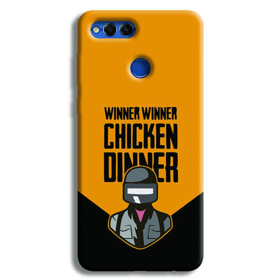Pubg Chicken Dinner Honor 7X Case