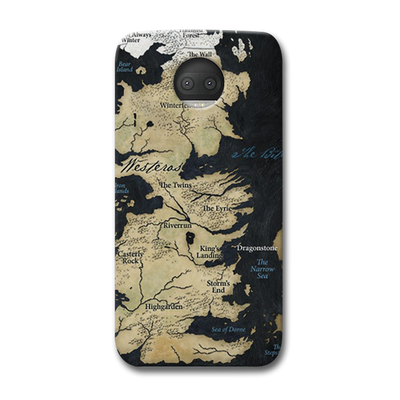Game of Thrones Map Moto G5s Plus Case