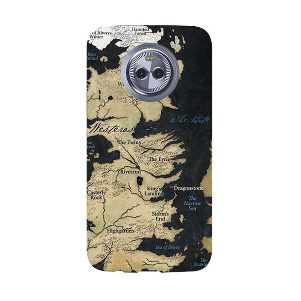 Game of Thrones Map Moto X4 Case