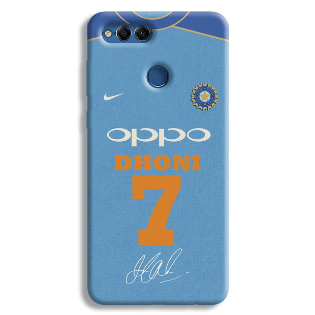 Dhoni Jersey Honor 7X Case