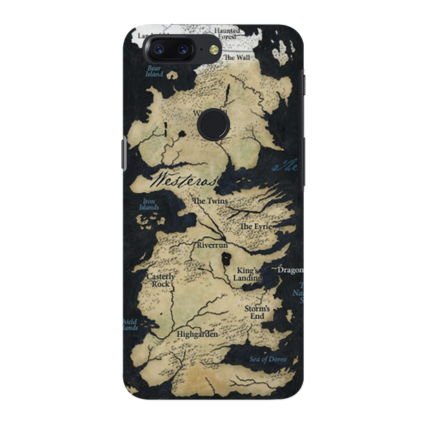 Game of Thrones Map OnePlus 5T Case
