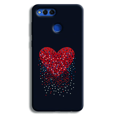Sparkling Heart Honor 7X Case
