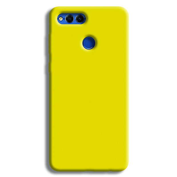 Yellow Shade Honor 7X Case