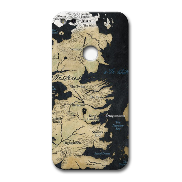 Game of Thrones Map Google Pixel Case
