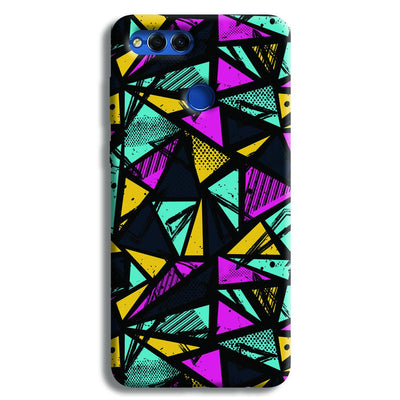Abstract Honor 7X Case