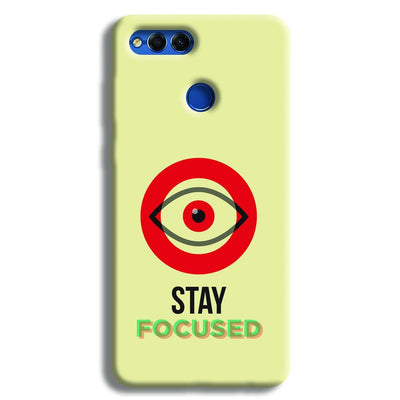 Stay Focussed Honor 7X Case