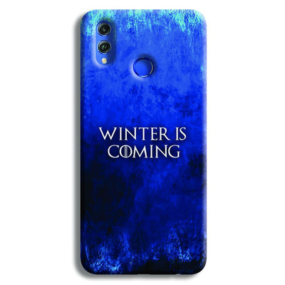 Winter is Coming Honor 8X Case