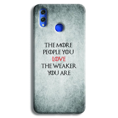 The More People Love You Honor 8X Case