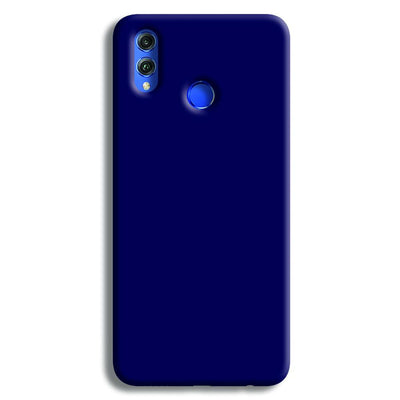 Navy Blue Honor 8X Case