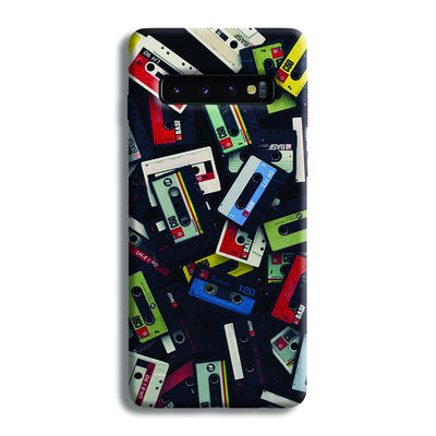 Retro Mix Tape Samsung Galaxy S10 Case