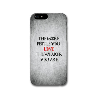 The More People Love You Apple iPhone 8 Case