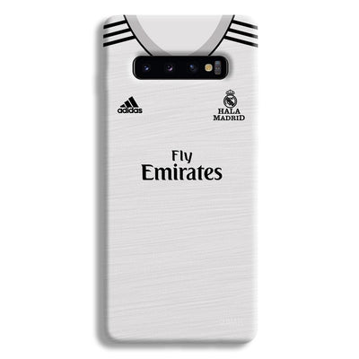 Real Madrid Home Samsung Galaxy S10 Plus Case