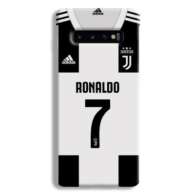 Ronaldo Juventus Home Samsung Galaxy S10 Plus Case