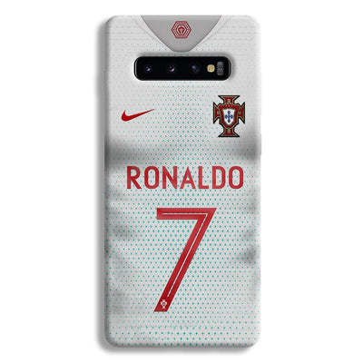 Ronaldo Portugal Jersey Samsung Galaxy S10 Plus Case