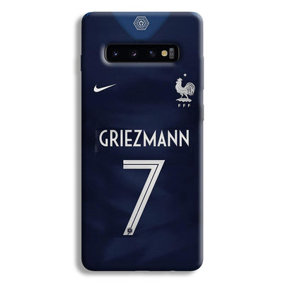Griezmann France Jersey Samsung Galaxy S10 Plus Case