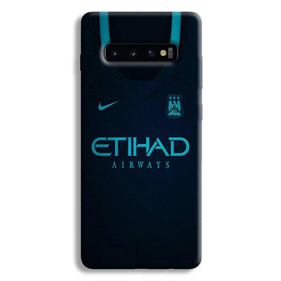 Manchester City Away Jersey Samsung Galaxy S10 Plus Case