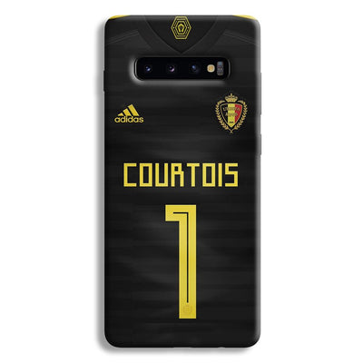 Thibaut Courtois of Club Jersy Samsung Galaxy S10 Plus Case