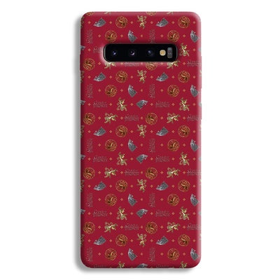 Pink Sigil Pattern Samsung Galaxy S10 Plus Case