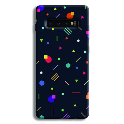 Geometric Doodle Samsung Galaxy S10 Plus Case