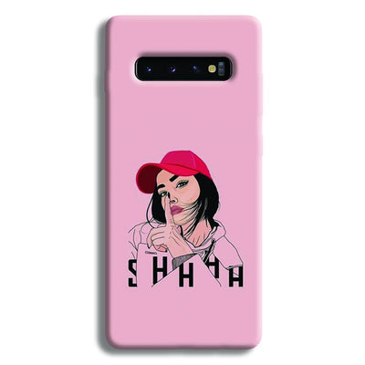 Shhhh..Girl Samsung Galaxy S10 Plus Case