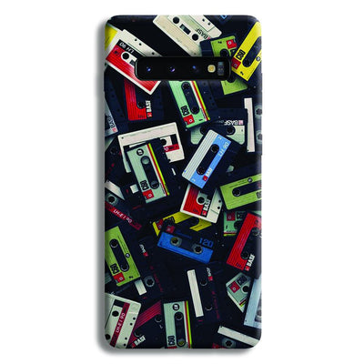 Retro Mix Tape Samsung Galaxy S10 Plus Case