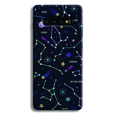 Constellation Doodle Samsung Galaxy S10 Plus Case