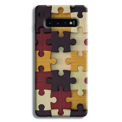 Puzzle Pattern Samsung Galaxy S10 Plus Case