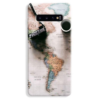 Coffee And Travel Samsung Galaxy S10 Plus Case