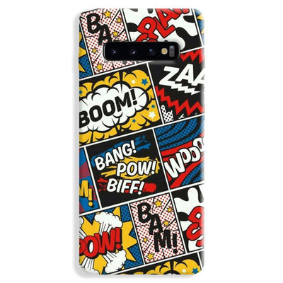 Comic Book Samsung Galaxy S10 Plus Case