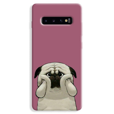 Chubby Puggy Samsung Galaxy S10 Plus Case