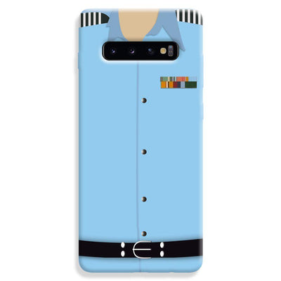 Air Force Uniform Samsung Galaxy S10 Plus Case