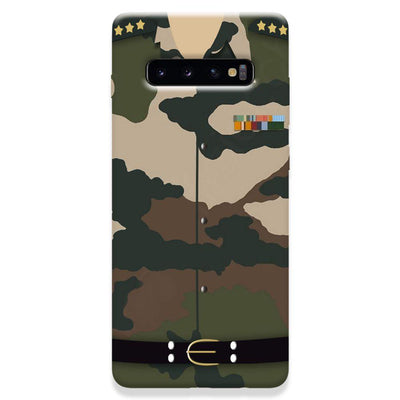 Army Uniform Samsung Galaxy S10 Plus Case