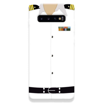 Merchant Navy Uniform Samsung Galaxy S10 Plus Case
