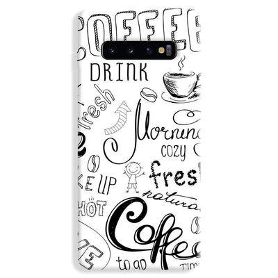 Coffee Lover Samsung Galaxy S10 Plus Case