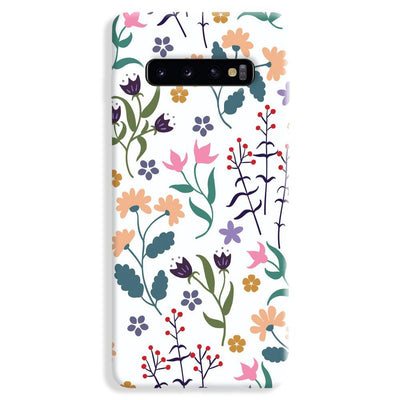 Floral Seamless Pattern Samsung Galaxy S10 Plus Case