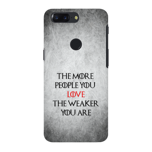 The More People Love You OnePlus 5T Case