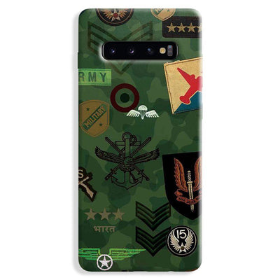 Indian Army Samsung Galaxy S10 Plus Case
