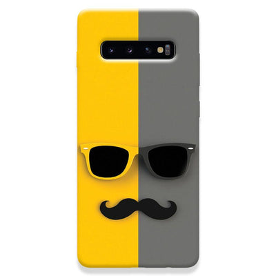 Mr. Mustache Samsung Galaxy S10 Plus Case