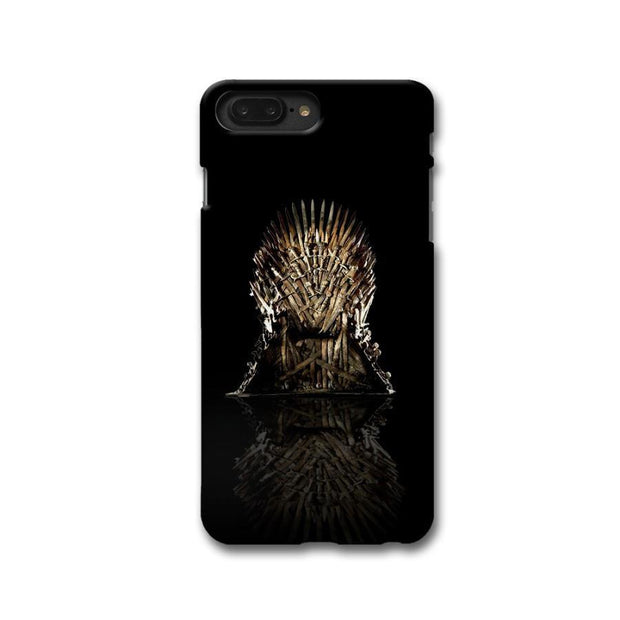 Black Iron Thrones Apple iPhone 8 Plus Case