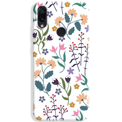 Floral Seamless Pattern Redmi Note 7 Case