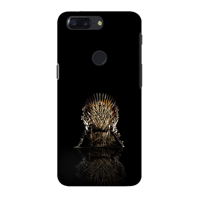 Black Iron Thrones OnePlus 5T Case