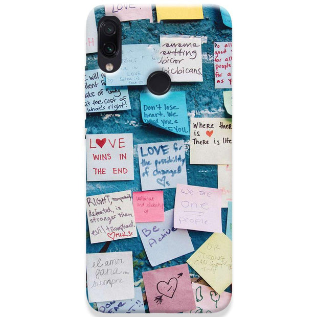 Love Note Redmi Note 7 Case