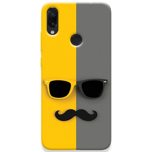 Mr. Mustache Redmi Note 7 Case