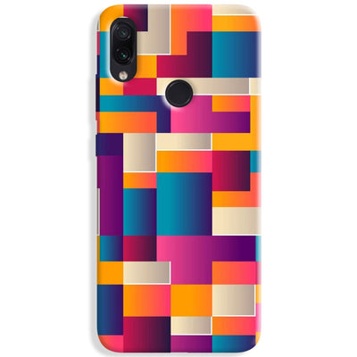 Colorful Abstract Redmi Note 7 Case