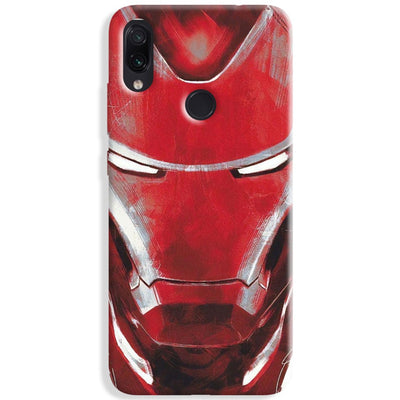 Ironman Charcoal Art Redmi Note 7 Case