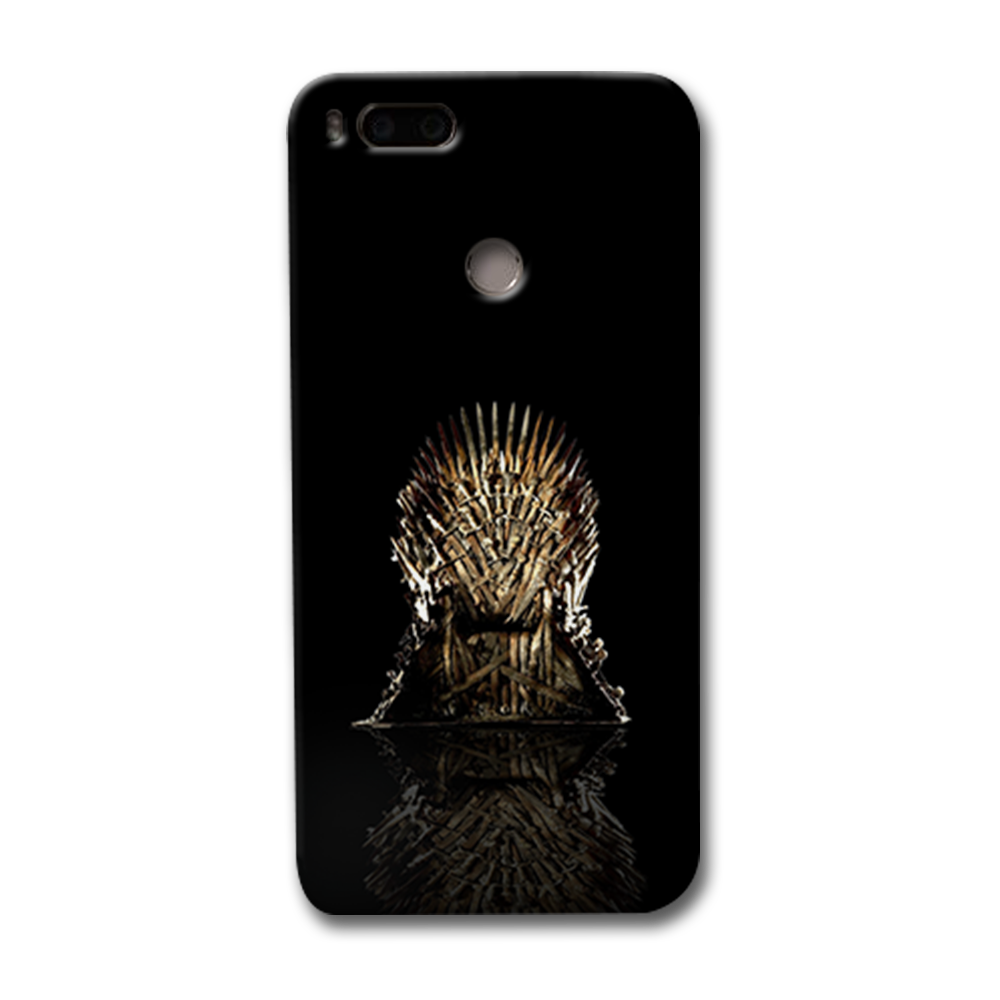 Black Iron Thrones Redmi Mi A1 Case