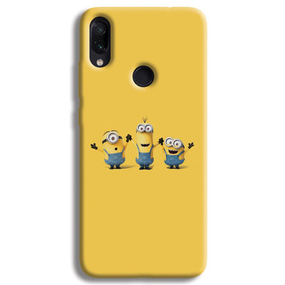 Three Minions Redmi Note 7 Case